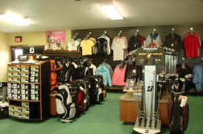 Golf Merchandise Offered in the Pro Shop