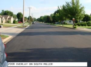 2008 Overlay on South Miller