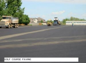 Golf Course Paving